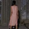 HEIMAT_SHEATH OVERLAY DRESS WASHED BRICK_6