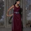 HEIMAT_PRISM MAXI DRESS JAMUN_2
